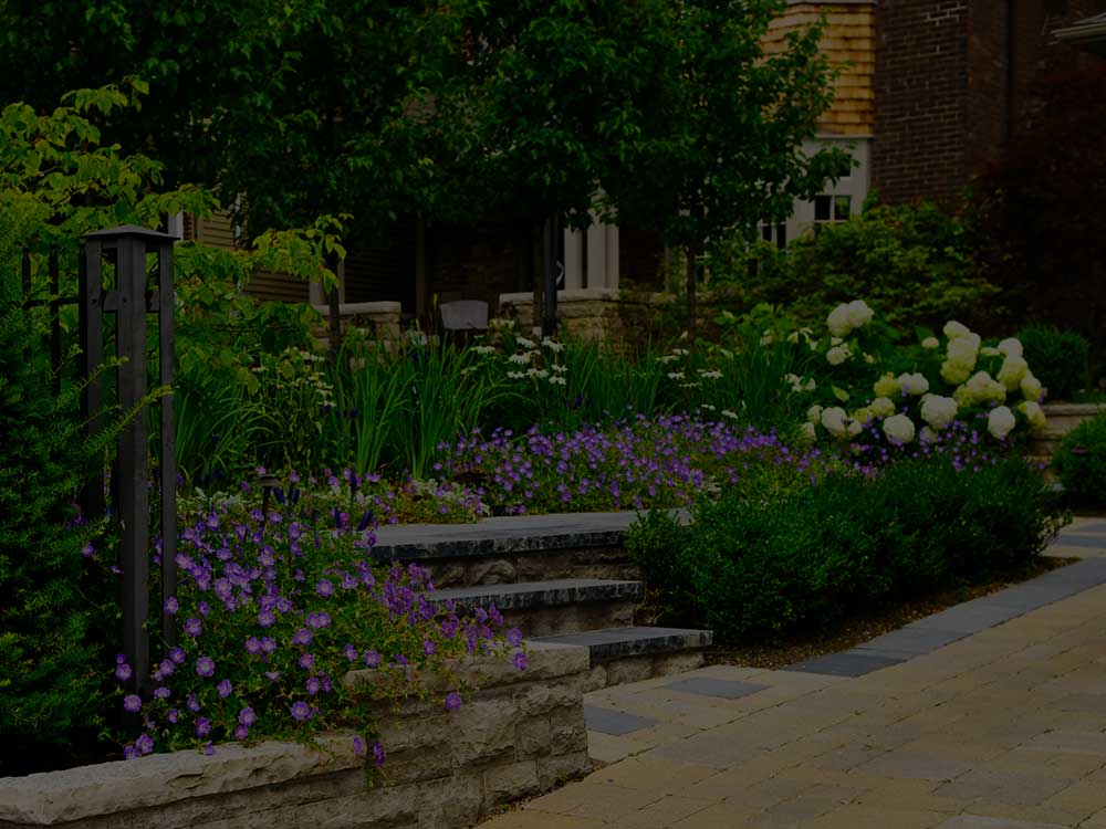 West Bloomfield Township Commercial Garden Design